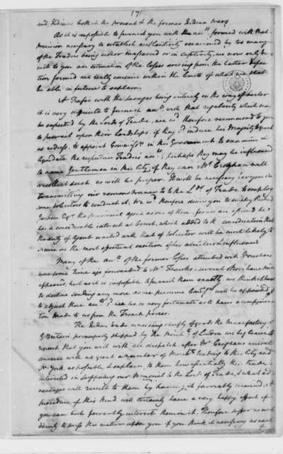 David S. Franks, et al to Moses Franks and George Groghan, December 12, 1763, Compensation for Losses Sustained in Disputes with French and Indians; Lists