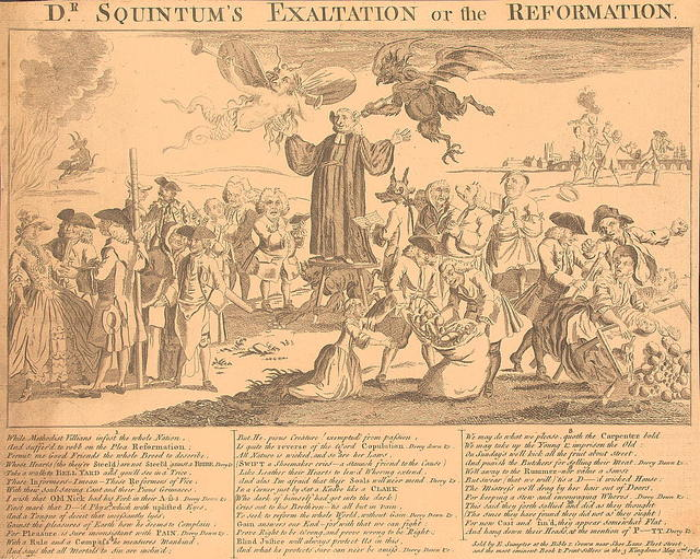 Dr. Squintum's exaltation or the reformation