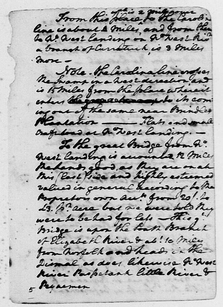 George Washington Papers, Series 1, Exercise Books, Diaries, and Surveys 1745-99, Subseries 1B, Diaries 1748-1799: Diary, March 29 - October 18, 1764