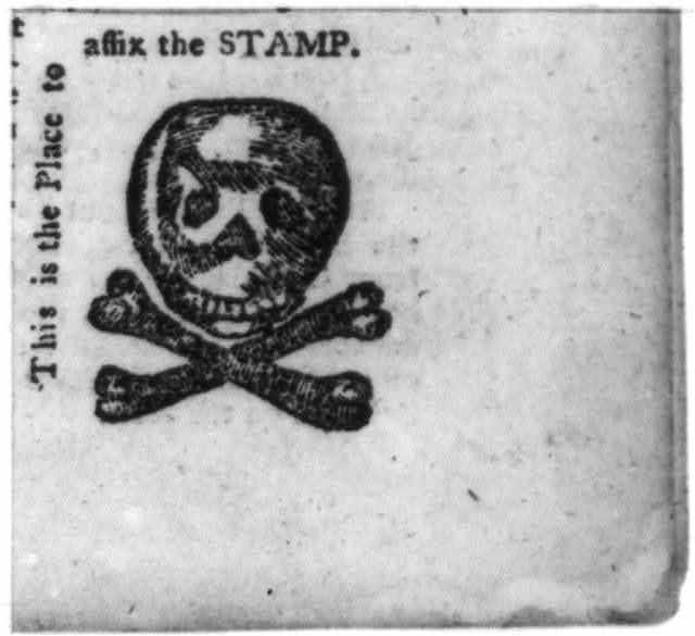 This is the place to affix the stamp