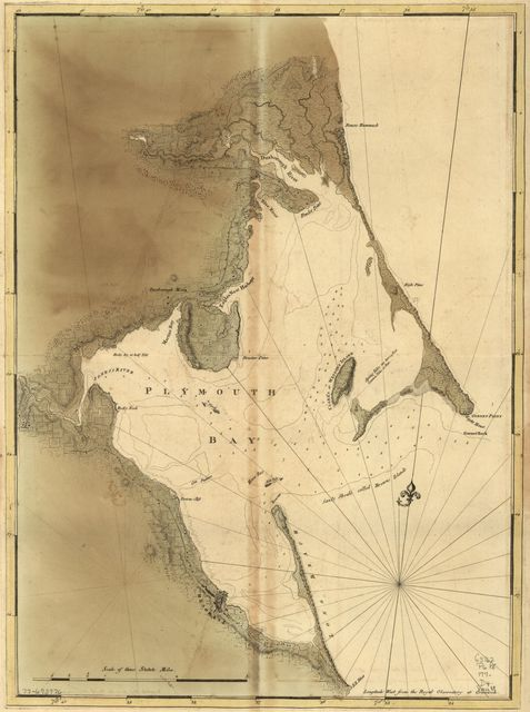 [Chart of Plymouth Bay.