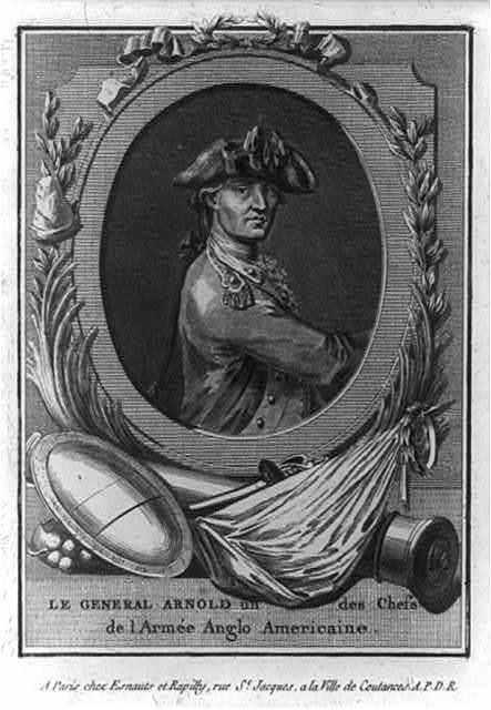 Le General Arnold un des chefs de l'armée Anglo-Americaine.