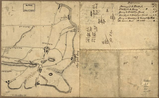 [Old map of Brooklyn and greater part of King's County, Long Island.
