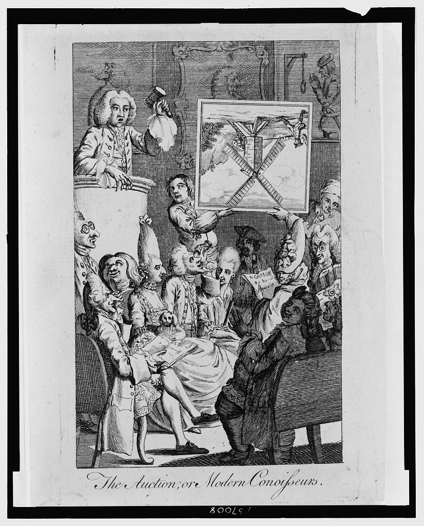 The Auction; or modern conoisseurs