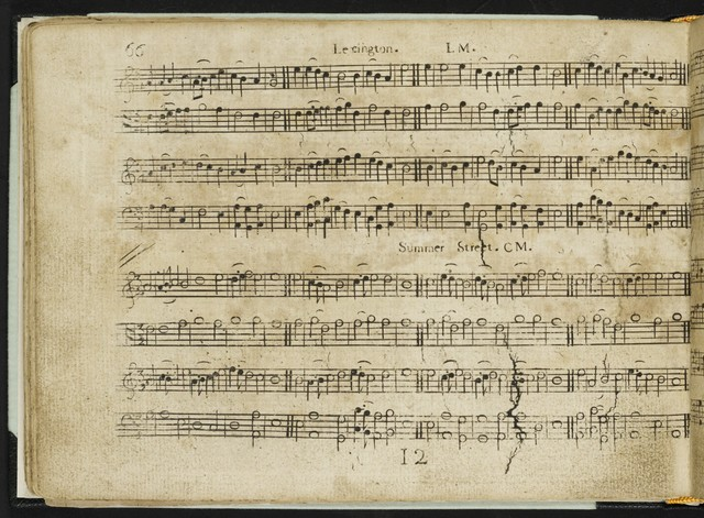 The  New-England psalm-singer, or, American chorister containing a number of psalm-tunes, anthems, and canons : in four and five parts : (never before published)