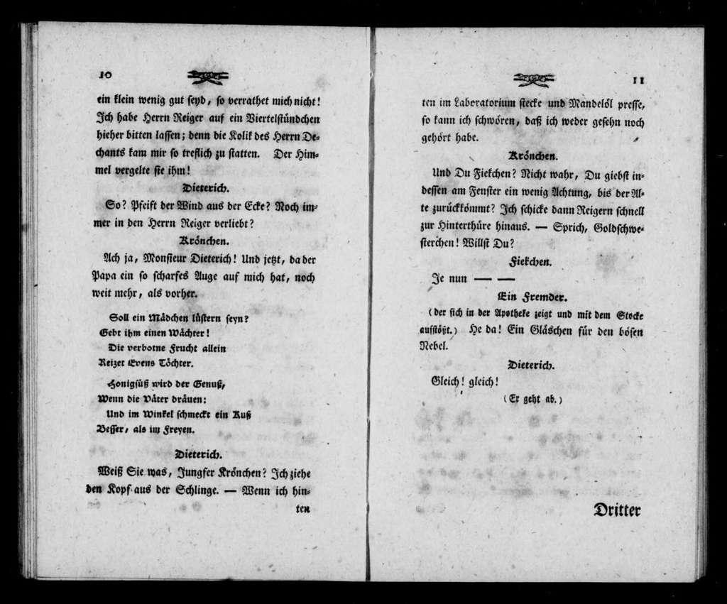 Apotheke. Libretto. Libretto. German