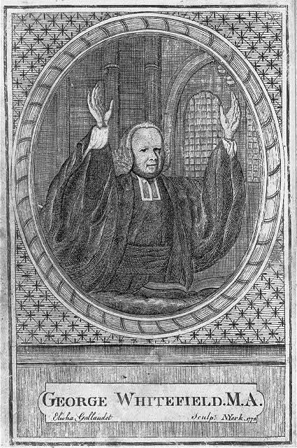 George Whitefield, M.A. / Elisha Gallaudet sculp., N. York 1774.