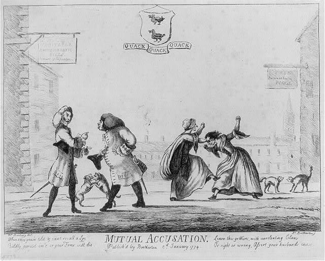 Mutual accusation / Mr. Bunbury, del. ; Js. Bretherton, f.