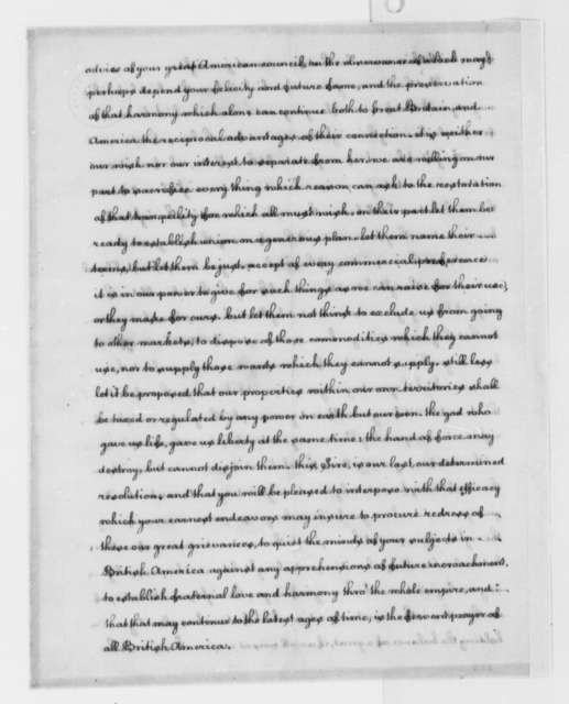 "Thomas Jefferson to Virginia Delegates to the Continental Congress, August 1774, ""A Summary View of the Rights of British America""; Instructions"