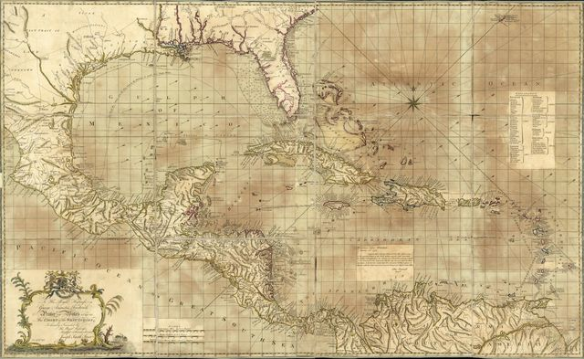 To His Royal Highness. George Ausgustus Frederick. Prince of Wales &c. &c. &c. This chart of the West Indies,