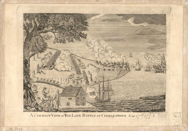 A correct view of the late battle at Charlestown : June 17th, 1775 /