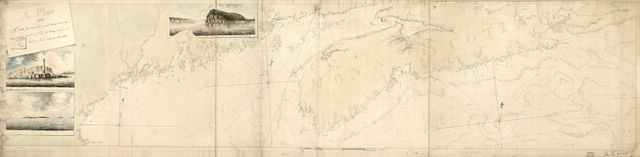 A Plan of the coast from Cape Anne in north latitude 42⁰42ʹ & 70⁰33ʹ west longitude from Greenwich: ... to Isle Scattery in long. 50⁰40ʹ & latitude 46⁰ [0]ʹ north, ... including the isle of Sable.