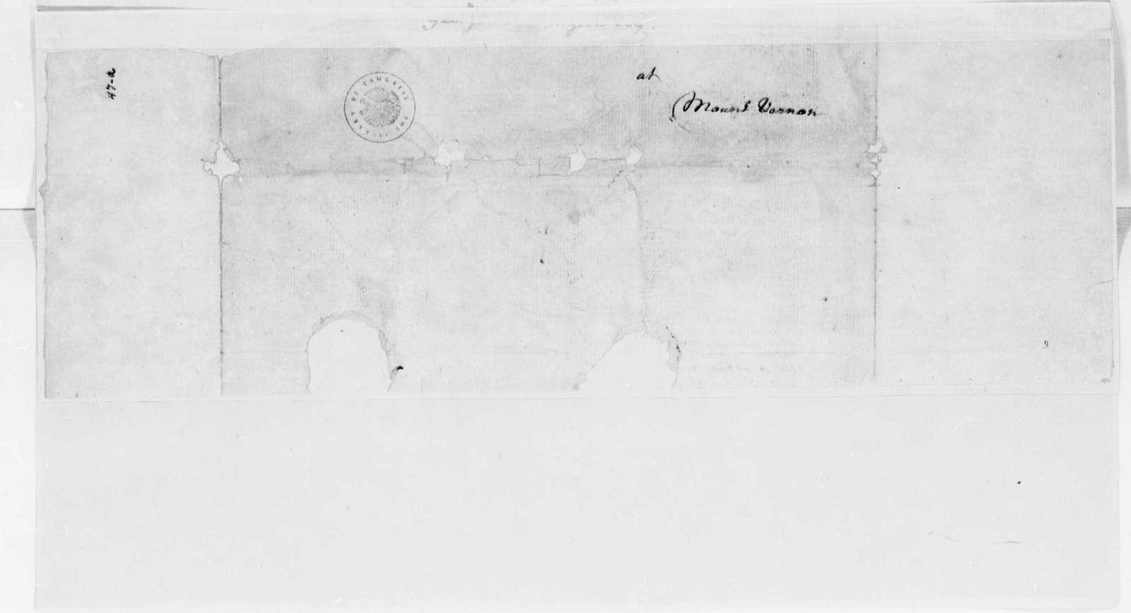 George Washington Papers, Series 4, General Correspondence: Edmund Pendleton to George Washington, April 21, 1775