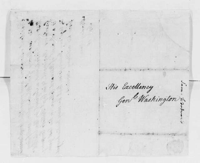 George Washington Papers, Series 4, General Correspondence: Samuel Langdon to George Washington, September 18, 1775, two same date