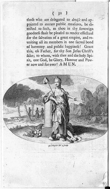 [Liberty triumphs over Tyranny] / Isaac Taylor del et sculp.