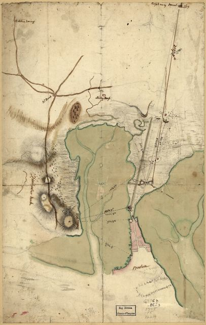 [Plan of the Neck and environs.