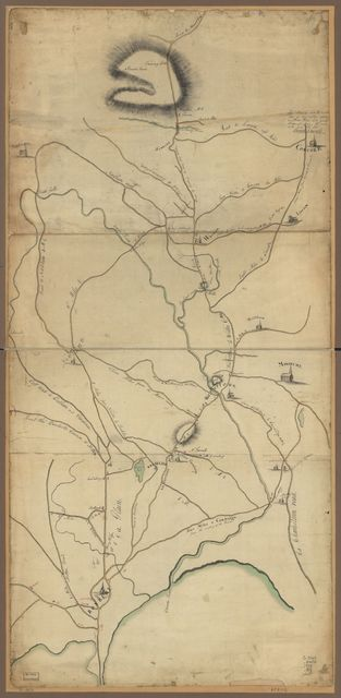 Roxbury to Concord. Roads & distances, &c.