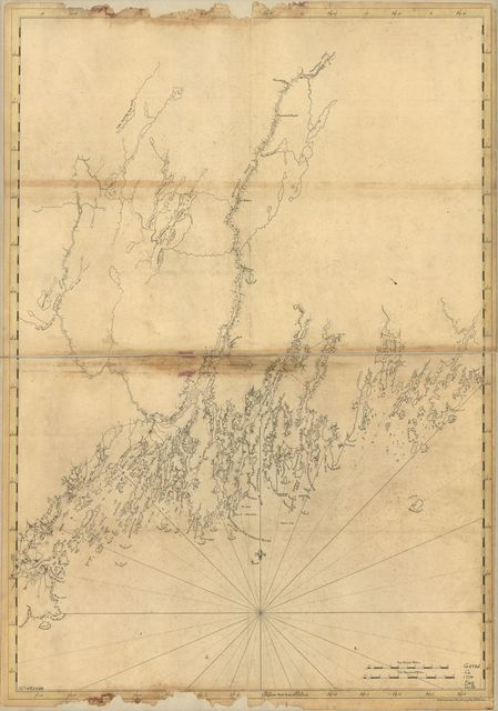 [Coast of Maine from Mosquito Head to Spurwink River.