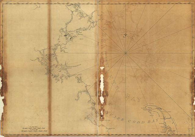 [Coast of Massachusetts from Cape Ann to Manomet Point, including northern tip of Cape Cod.