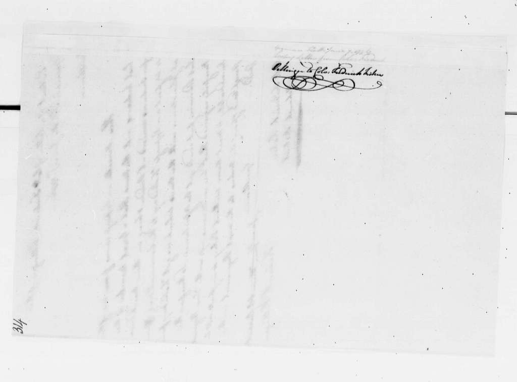 George Washington Papers, Series 4, General Correspondence: Frederick Pellinger to Frederick Fisher, June 7, 1776