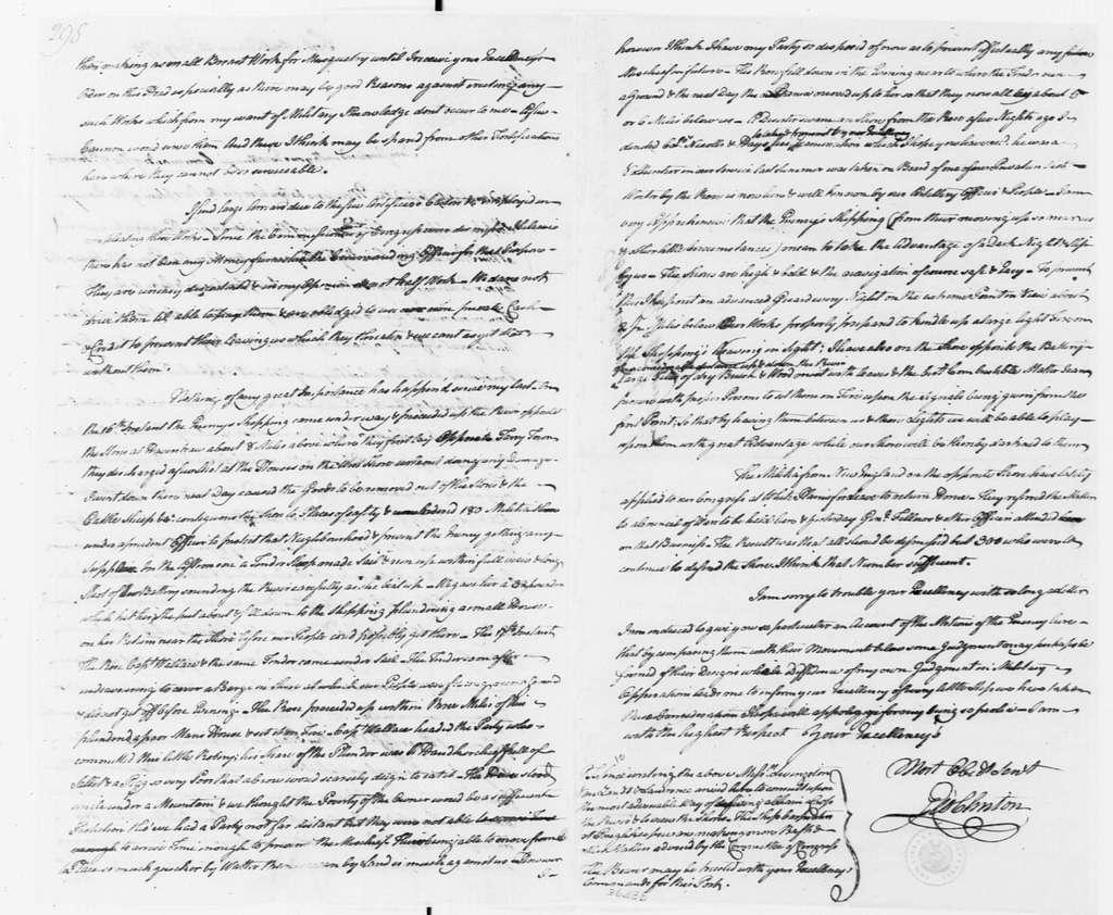 George Washington Papers, Series 4, General Correspondence: George Clinton to George Washington, July 23, 1776