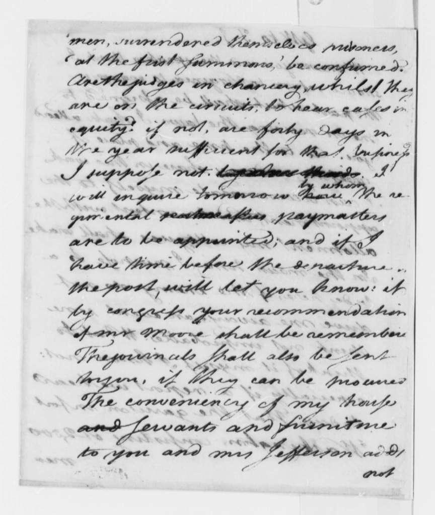 George Wythe to Thomas Jefferson, November 18, 1776, Fort Washington; Design of Great Seal
