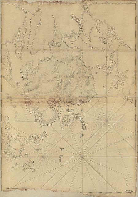 [Mount Desert Island and neighboring coast of Maine.