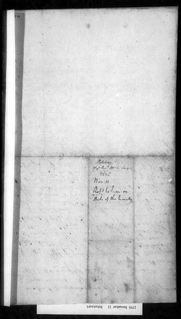 November 11, 1776, Botetourt, Reverend Adam Smyth, for 3 1/2 years' back salary not yet paid.