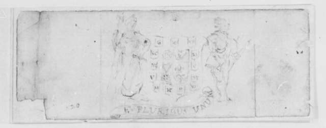 P. E. Du Simitiere, September 20, 1776, Proposal for United States Coat of Arms