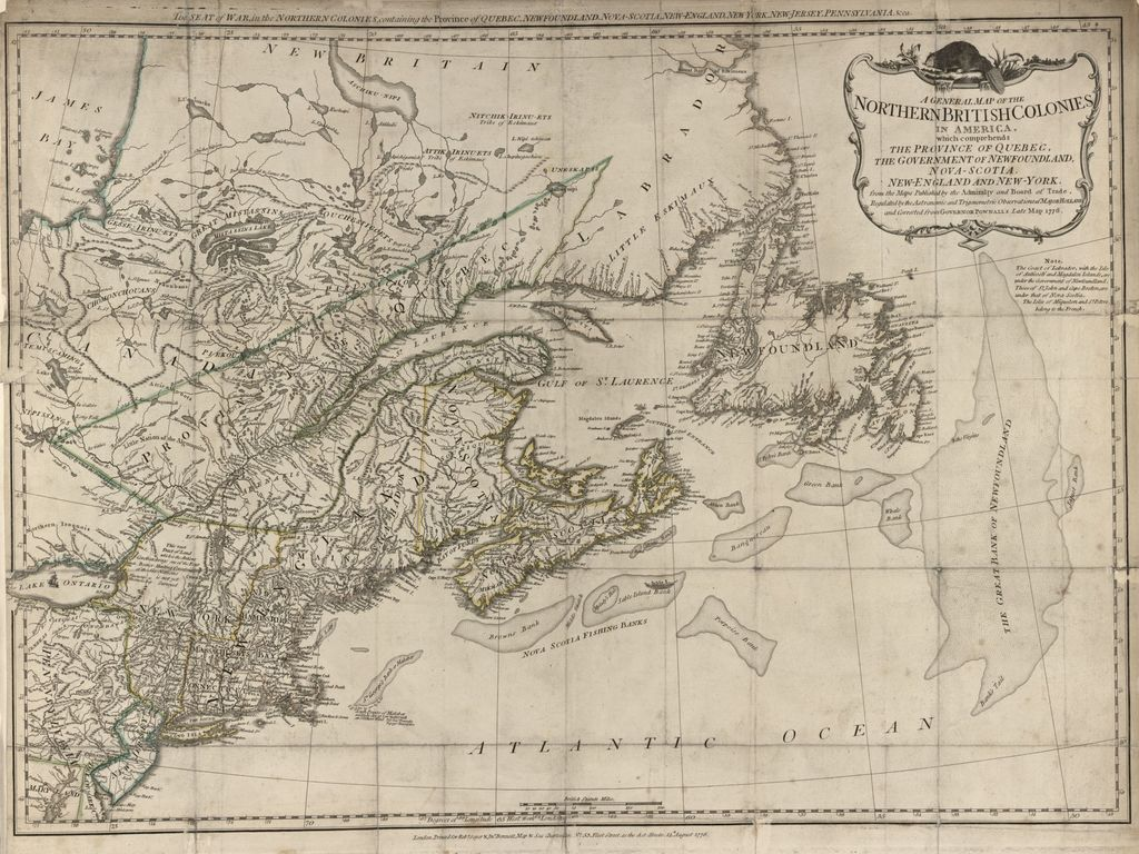 The American military pocket atlas; being an approved collection of correct maps, both general and particular; of the British colonies; especially those which now are, or probably may be the theatre of war; taken principally from the actual surveys and judicious observations of engineers De Brahm and Römans; Cook, Jackson, and Collet;