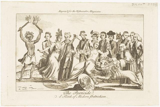 The parricide A sketch of modern patriotism.
