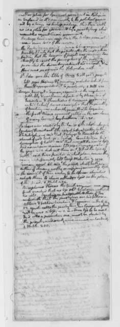 Thomas Jefferson, October 1776, Notes on Episcopacy; Virginia Laws and Statutes Covering the Church of England