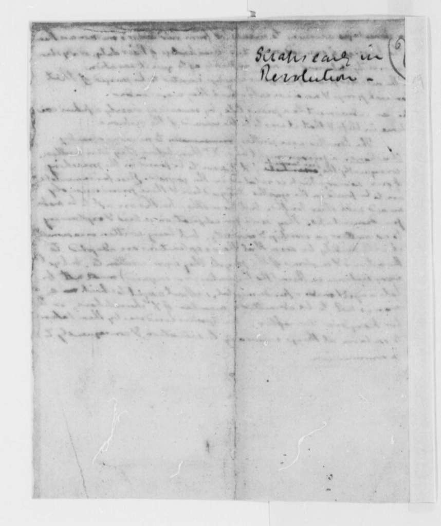 Thomas Jefferson, October 1776, Notes on Heresy, Locke; Virginia Laws and Statutes Covering the Church of England
