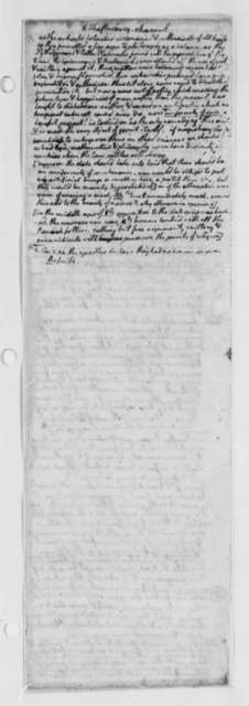 Thomas Jefferson, October 1776, Notes on Shaftesbury; Virginia Laws and Statutes Covering the Church of England