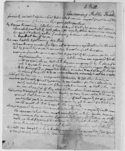 Virginia Laws and Statutes, 1776, 1770 Act on the Celebration of Public Observances; Thanksgiving