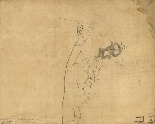 [Westchester County coast, New Rochelle to Horseneck River: unfinished.