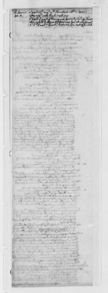 Western Citizens to Virginia General Assembly, 1776, Notes for Memorial on Lack of Voting Rights