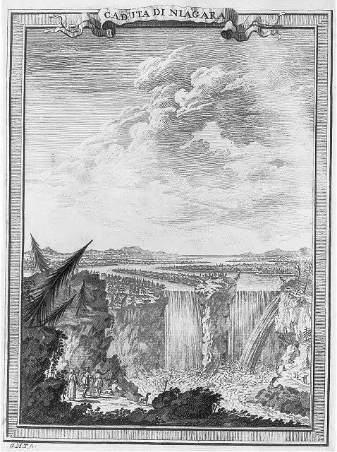 Caduta di Niagara / G.M.T. fc. 1777.