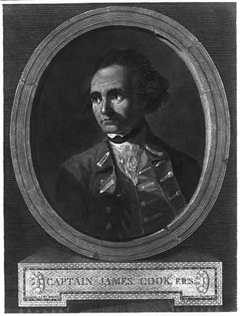 Captain James Cook, F.R.S.