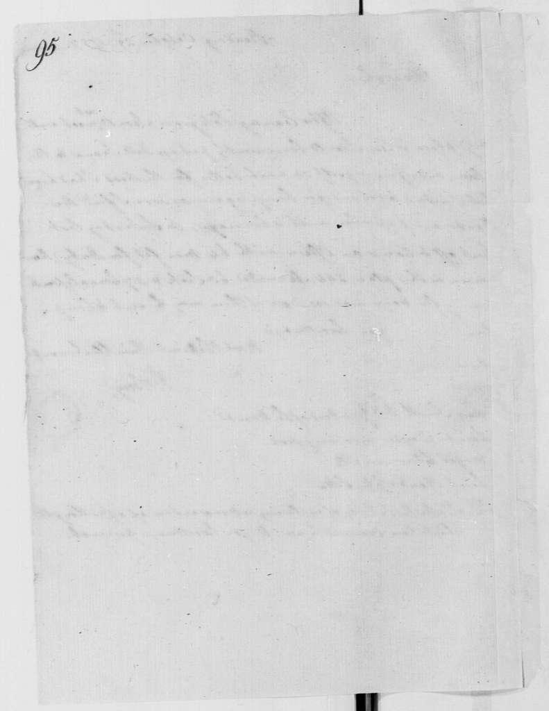 George Washington Papers, Series 4, General Correspondence: William Alexander, Lord Stirling to George Washington, October 29, 1777, with Memorandum