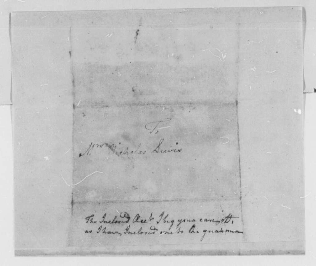 John Goodrich, Sr. to Mary Lewis, August 19, 1777, Imprisonment and Escape