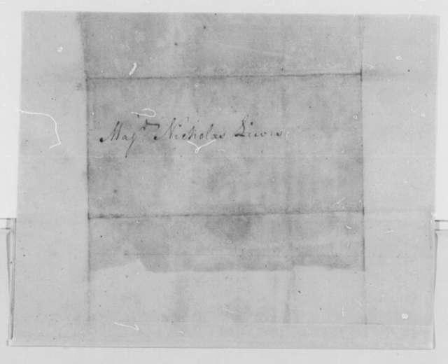 John Goodrich, Sr. to Nicholas Lewis, August 18, 1777, Imprisonment and Escape