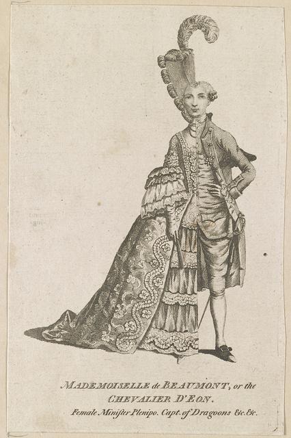 Mademoiselle de Beaumont or The Chevalier D'Eon