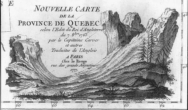 Nouvelle carte de la Province de Quebec ...