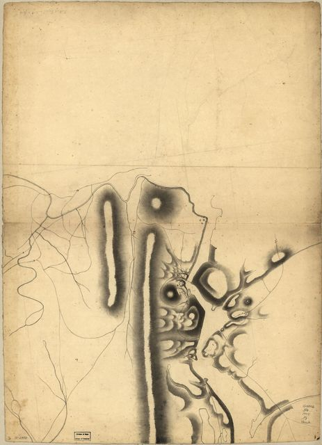 [Part of a map of the Hudson Highlands showing Forts Clinton and Montgomery.
