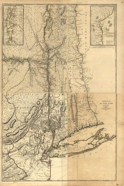 Province de New-York en 4 feuilles,