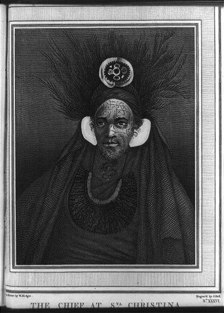 The Chief at Sta. Christina / [drawn from] nature, W. Hodges ; engraved by J. Hall.