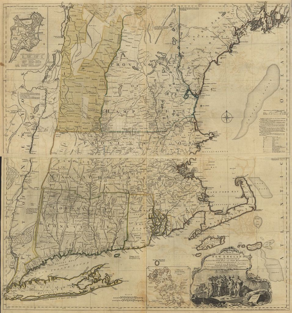 The North American atlas, selected from the most authentic maps, charts, plans, &c. hitherto published.