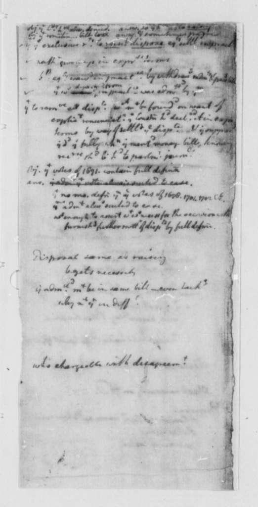 Virginia General Assembly, 1777, Memorandum Comparing American and British Legislatures