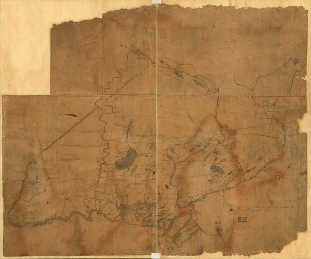 A Plan of the late Province of Main as far as Kennebeck River.